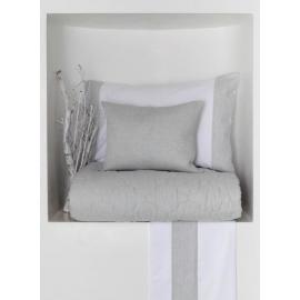 Pintuck Spinato Completo letto
