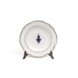 Soup Plates blue Moretto